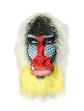 Hommes Babouin Masque Animal Rafiki Jungle Singe Hommes Accessoire Déguisement