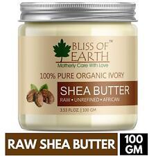 organic raw unrefined shea butter 100 grams