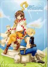 Final Fantasy 9 Ix Ff9 Ffix Doujinshi Comic Zidane x Garnet Fantasia Tomiitou