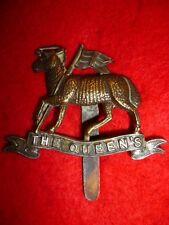 The Queen's (West Surrey) Regiment Cap Badge - WW1, KK 590