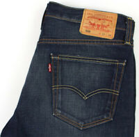 Levi's Strauss & Co Hommes 508 Droit Jambe Slim Jean Taille W33 L26 AGZ350