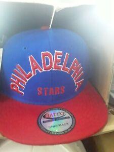 Negro league Philadelphia stars blue snapback Blue and Red