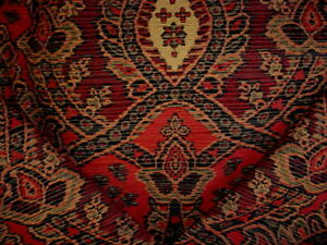 3-1/4Y KRAVET LEE JOFA MOROCCAN IKAT CHENILLE TAPESTRY UPHOLSTERY FABRIC
