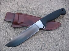 BUSSE Combat Basic 8 Knife Custom Molded Leather Sheath BROWN - USA