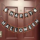 Happy Halloween felt banner, halloween party decor, halloween decorations, Felt