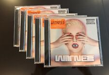 Katy Perry Witness Explicit CD, 5 CDs, Bulk