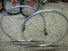 "Coppia Ruota / Cerchio Ant. + Post. Bici 26"" MTB 6/7 Vel."