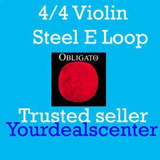 Pirastro Obligato Violin Strings Set 4/4 Steel LOOP E