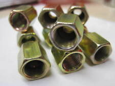 10 x Female 10mm Metric Brake Pipe Nuts 3/16 Copper