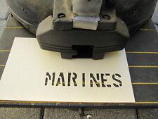 """Stencil Lackier Schablone MARINES 5/8"""" Jeep Dodge US Army USMC Vietnam Navy WW2"""