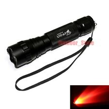 1pcs UltraFire WF-501B CREE Red light LED 1Mode 150Lumens Flashlight Torch G60