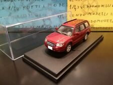 1/43 Subaru Forester 2007 4WD SUV bordeaux rosso rot red professional repainted