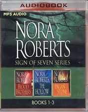 Nora Roberts Sign of Seven Trilogy includes 3 Unabridged MP3 Audio Books