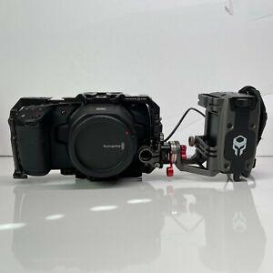 Blackmagic Design Pocket Cinema Camera 6K BMPCC with WARRANTY, Cage & Battery