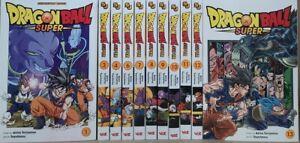 Dragon Ball SUPER Vols.1,3,4,6-13 English Manga Graphic Novel Brand New 11 books