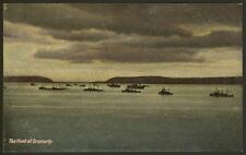 More details for ross & cromarty - the fleet at cromarty - c1920 vintage printed postcard