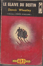 C1 Dennis WHEATLEY Le GLAIVE DU DESTIN 1948 EO Epuise JULIAN DAY Sword of Fate