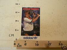 STICKER,DECAL ADIDAS STEFAN EDBERG TENNIS, NOT 100 % OK IS DAMAGED 18 CM