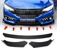 Carbon Fibre Front Bumper Splitter Spoiler For Peugeot RCZ RCZ R Tepee Traveller