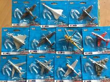 NEW  CORGI SHOWCASE DIECAST MODEL AIRCRAFT ~ CHOOSE YOUR OWN AIRCRAFT(S)