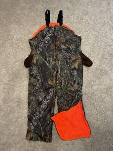 Gamehide Chameleon Insulated Reversible Bib Overalls Fleece Hunting 3X Style 29R