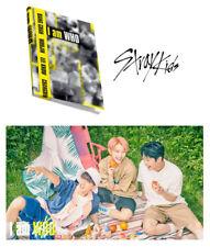 STRAY KIDS I am WHO 2nd Album [I am ver.] CD+Photobook+3 Photocard+Lyrics Poster