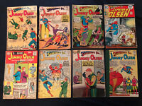 SUPERMAN'S PAL JIMMY OLSEN Silver Age lot of 8 comics: #43,56,59,71,76,81,163...
