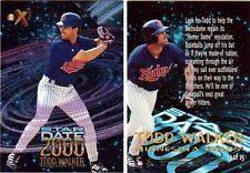 TODD WALKER INSERT CARD-1997 E-X STAR DATE 2000 #13-NM/MT-MINNESOTA TWINS 2B