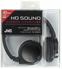 JVC Victor Head-band Portable Headphones HA-S500-B (Black)