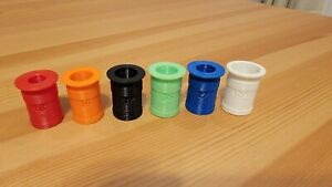 Lot of 10 Powder Bushings, 3D Printed, Select Your Sizes, Sizes 7-46