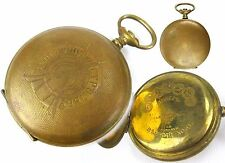 Antique case AWARD Pocket Watches For PERFECT SHOOTING Russian Empire