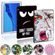 Para Huawei MediaPad T3 8 10/T5 10-impresión Delgado Funda Cubierta del comprimido