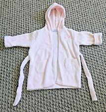 First Impressions Pink Long Sleeve with Hoodie Baby Girl's Bathrobe 0 - 9 months