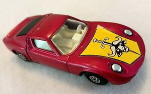 Matchbox Speed Kings Lamborghini Miura (1970)