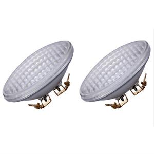 2 Pack LED PAR36 Light 9W 12V Warm White Waterproof, Landscape Lamp,For Tractor