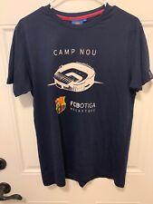 FCB Barcelona T Shirt Camp Nou FCBotiga Megastore S Soccer NWT
