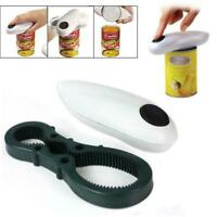 Automatic Electric Jar Opener Bottle Can Tin Opener Tools_HOT Kitchen B7L9