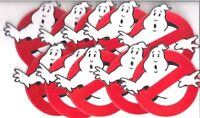 "GHOSTBUSTERS Lot Of (10) TEN No Ghosts Logo Screen Accurate 4"" Patch"