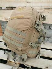 More details for dutch army 35l grab bag rucksack backpack daysack molle desert coyote genuine