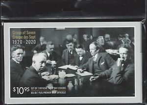 Canada # 3243abcdefg    GROUP OF SEVEN   Brand New 2020 Canada Post Sealed Set