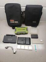 Official Nintendo 3ds ds Gameboy lot Gameboy color Case Sp TAKE A LOOK
