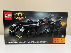 Lego Batman: 40433 Limited Edition 1989 Batmobile - Brand New Sealed Retired Set