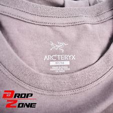 Mens Arc'Teryx Leaf Jump Crew Short Sleeve Graphic T-Shirt Size L Maverick Grey