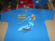 INVISIBLE WOMAN  T-SHIRT CAMISETA  TALLA L UNICA DISPONIBLE