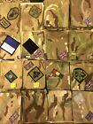 Original MTP British Army Blanking Patch Tabs Uniform UBACS Shirt Smock Used New