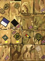 Original MTP British Army Blanking Patch Tabs Uniform UBACS Shirt Smock Used New