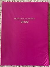 2022 Planner 10 X 75 Monthly Format Lay Flat Spine Agenda Organizer