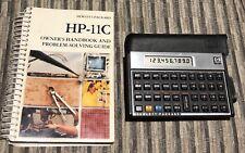 HP-11C Scientific Calculator with Case Manual