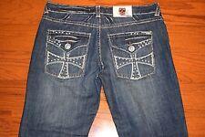 LAGUNA BEACH - Made USA - Relaxed Fit Blue Jeans - Men Size 38 x 30 - MINT!!