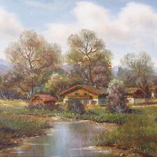 Mayer H. *1908 Ländliche Idylle in Österreich Pferd Burgenland Romantiker